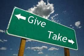 geven en nemen